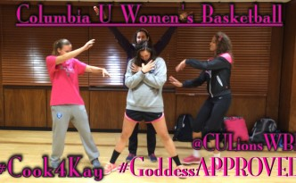 Columbia University Women's Basketball Poetic Interpretation of #GoddessApproved Chef Challenge